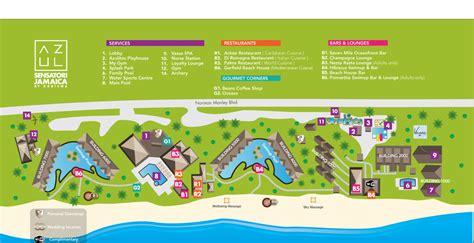 azul resort map azul sensatori jamaica azul sensatori jamaica all