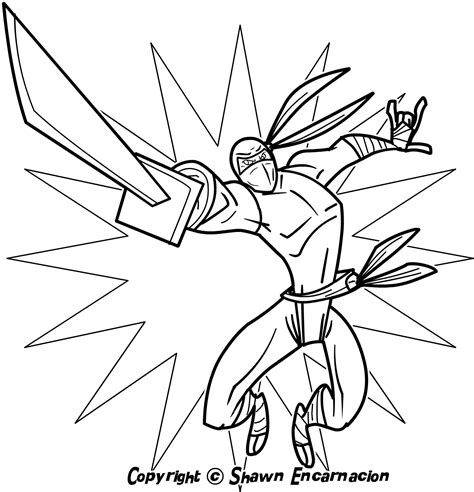 Coloring Page Ninja | ninja coloring pages free printable coloring home