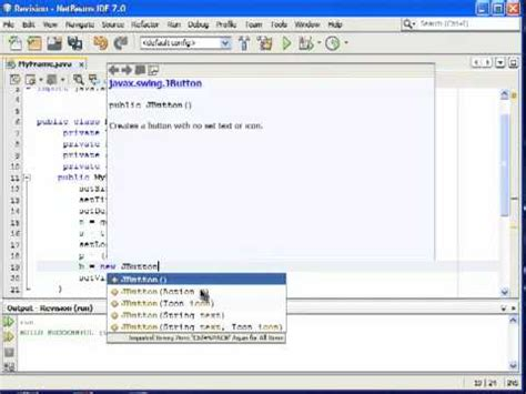 java swing add java swing tutorial 4 adding a button on a jpanel