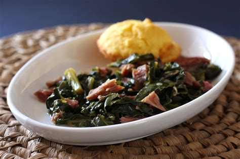 turnip greens  ham shanks