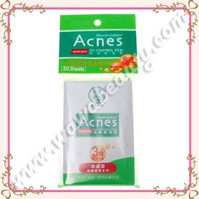 Blotting Paper 50 Sheets mentholatum acnes medicated blotting