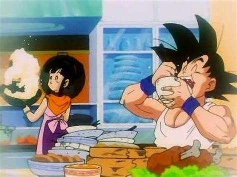 imagenes de goku comiendo goku esposa fotos de dragon ball
