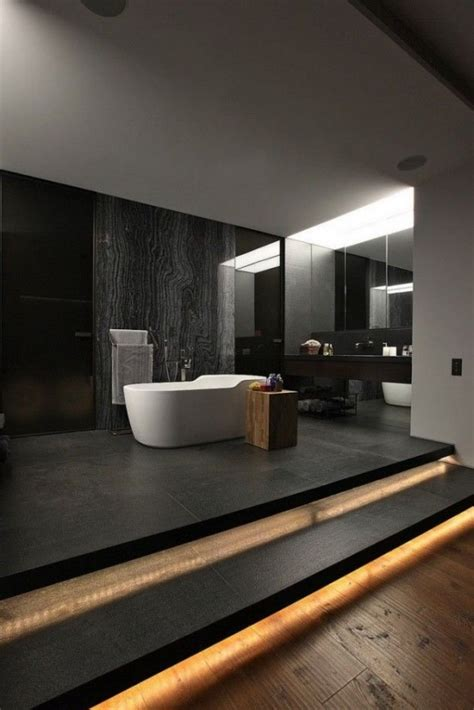 stylish  laconic minimalist bathroom decor ideas