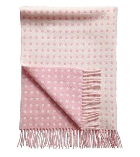 Altrosa Decke by Baby Wolldecke Gepunktet Rosa