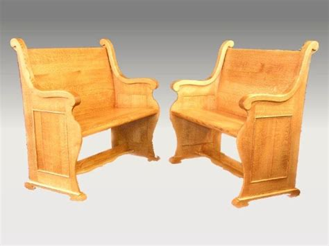 pew style benches custom church style oak pew benches larue woodworking pew