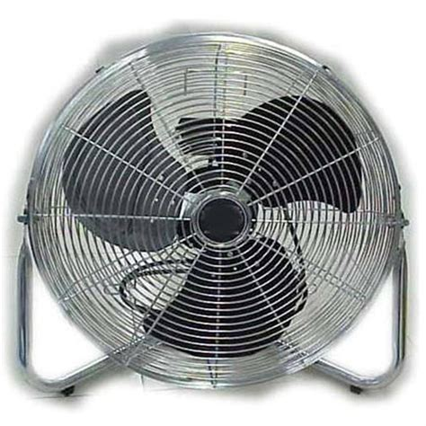 20 high velocity floor fan 20 quot aloha high velocity floor fan 163140 air