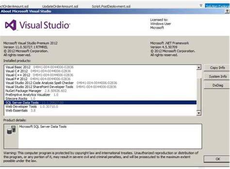 tutorial visual studio setup project database project tutorial using visual studio 2012