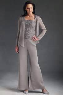 Mother of the bride plus size formal pant suits