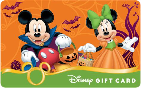 What Can You Use Disney Gift Cards On - celebrate halloween with new disney gift card designs disney parks blog
