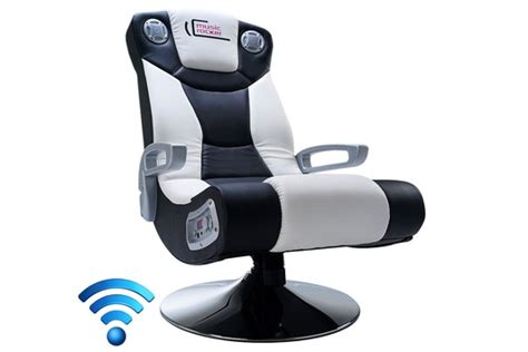 fauteuil de bureau home cinema sans fil siege multimedia 2 1 home cinema gamer ebay