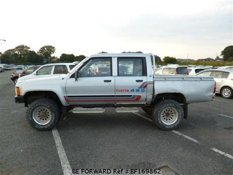 1985 Toyota Hilux Used 1985 Toyota Hilux W Cab Wp N Ln65 For Sale Bf169862