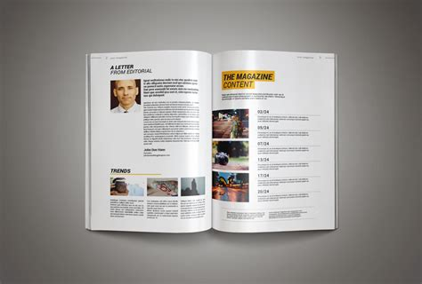 template magazine inkdesign magazine template pixelo
