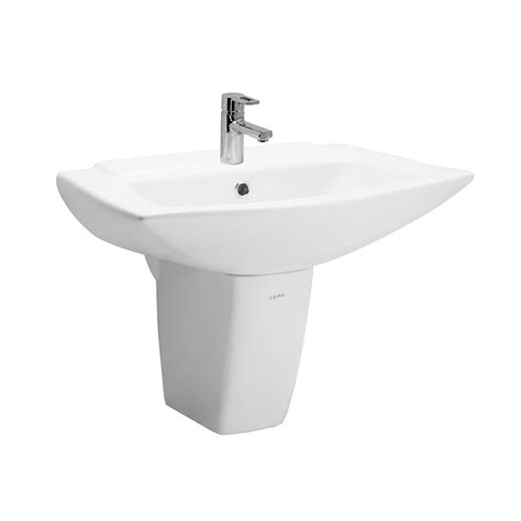 sanitaryware wash basins half pedestal 1022 concord