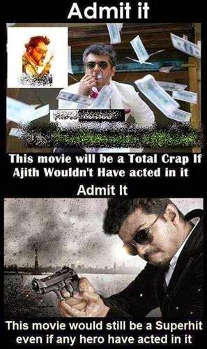 vijay ajith thala thalapathy troll memes tamil funny