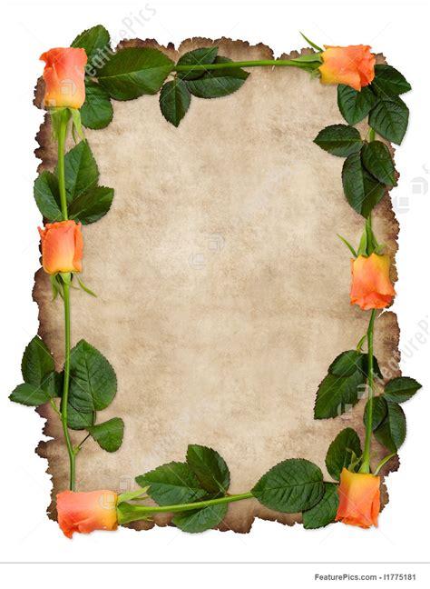 templates love letter parchment stock photo