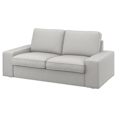 sofa and seats kivik two seat sofa ramna light grey ikea