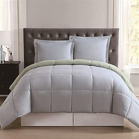 light blue twin xl comforter truly soft everyday reversible comforter set bed bath