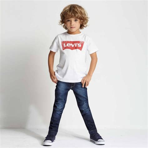 Boyset Levis levi s boys white classic logo t shirt childrensalon