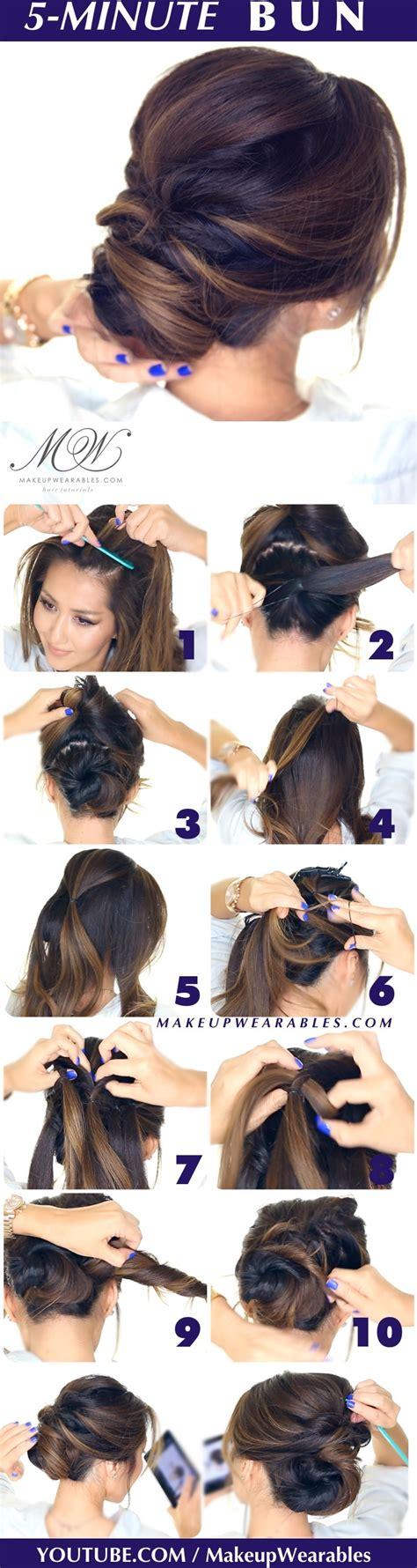simple fancy hairstyles 10 chignons magnifiques 224 faire chez soi coiffure simple