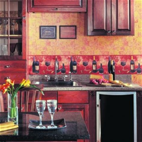 kitchen borders ideas wall paper border ideas for a personalized kitchen