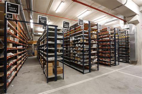 Volkswagen Warehouse by Volkswagen Se Adelanta En La Distribuci 243 N De Recambios Y