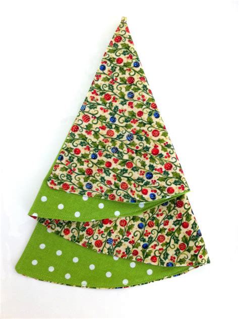 holiday fabric napkins holly berries ornaments christmas