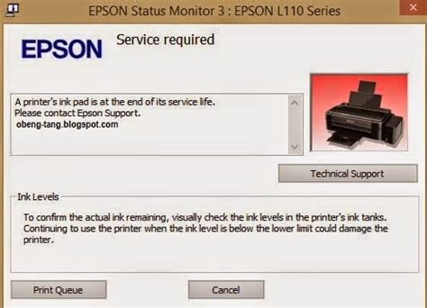 cara reset epson l210 ink level cara reset printer epson l110 l210 l300 l350 l355 mahira