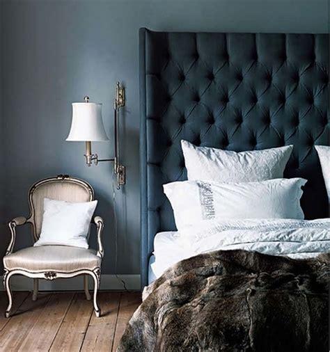 blue tufted bed tufted blue headboard velvet palette