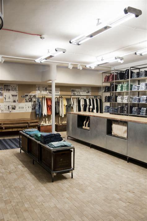 london cool shop find nudie jeans repair shop melting nudie jeans store global repair station london 187 retail