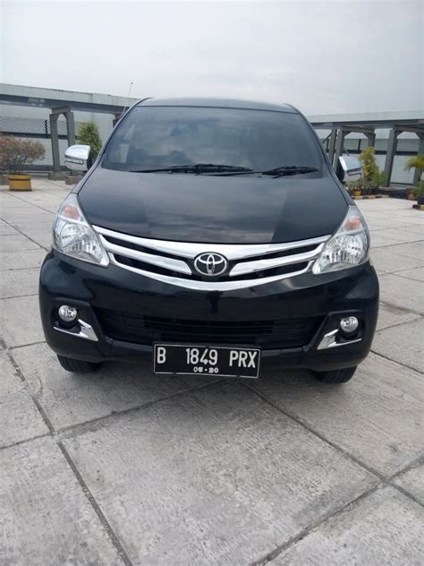 toyota all new avanza 1 3 g manual warna hitam 2015 km 9