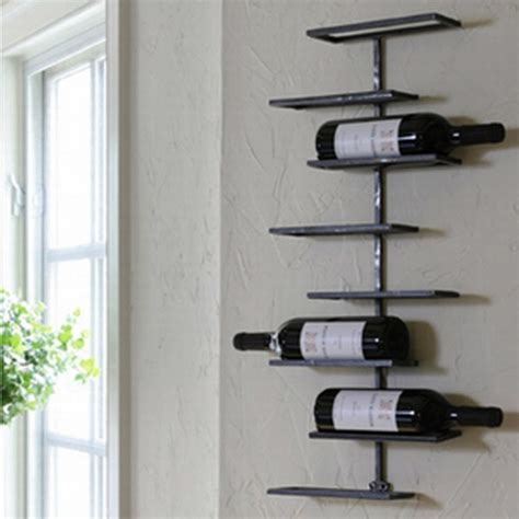 Metal Wall Wine Racks by Tribeca 8 Bottle Wall Wine Rack Wine Racks Atlanta By Iron Accents