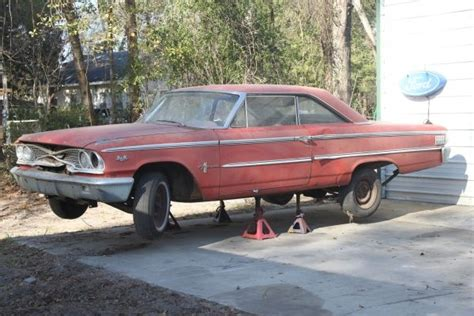 ford galaxie fastback project