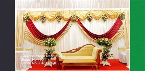 what decorations best stage decoration in kottayam