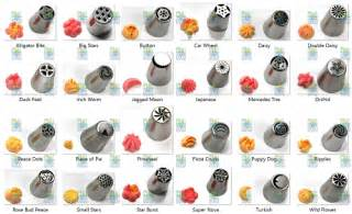 russian piping tips examples gretchen s bakery