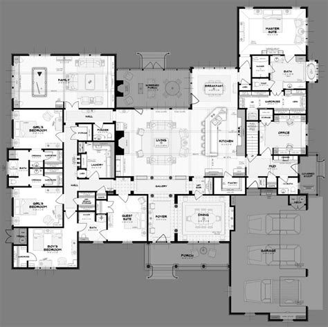 big house floor plans 25 best ideas about 1 bedroom house plans on