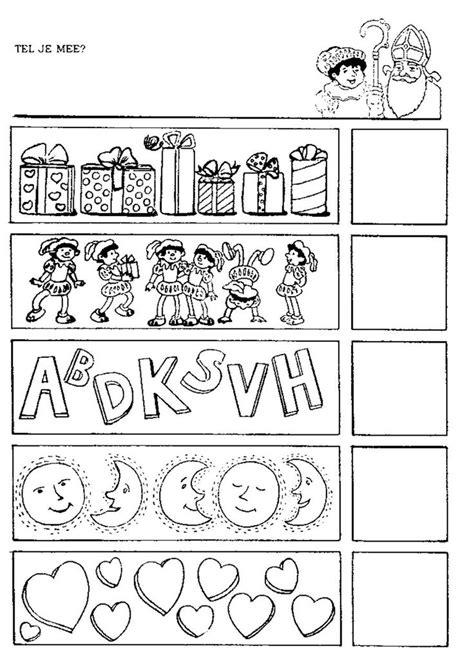 werkbladen sinterklaas groep 3 17 beste afbeeldingen over sinterklaas werkbladen op