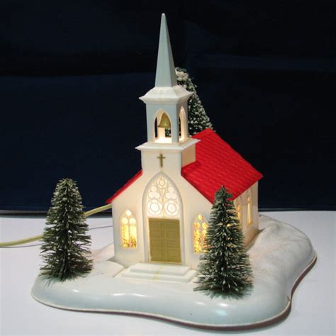 vintage noma lights musical christmas church by