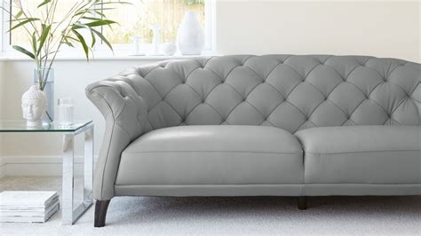 Grey Chesterfield Sofa Bed Grey Leather Chesterfield Sofa Bed Infosofa Co