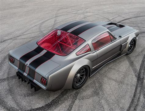 Luxury Car Garage Design the vicious 65 ford mustang the awesomer