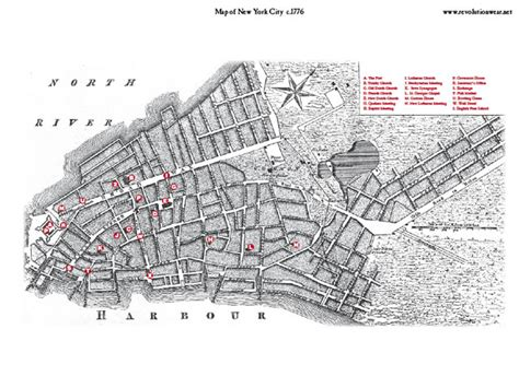new york 1776 map the american revolutionary war s caign for new york and