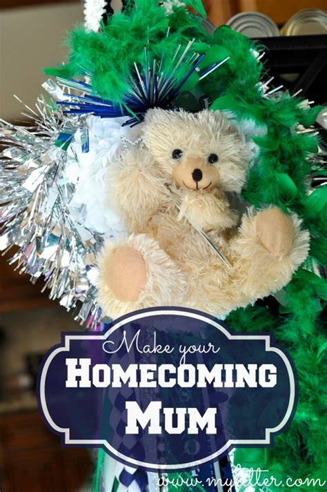 how to make a homecoming mum a texas tradition