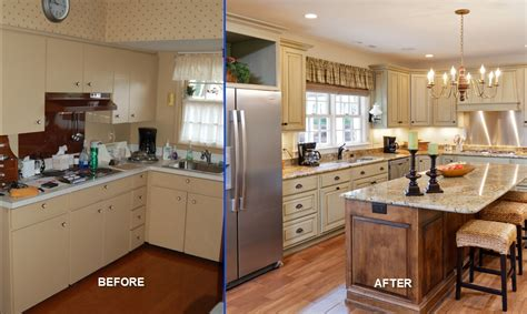 renovate kitchen ideas before and after galley kitchen remodel before and after