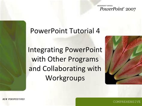 c tutorial powerpoint presentation ppt powerpoint tutorial 4 integrating powerpoint with