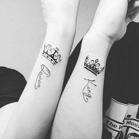tattoo couple echec les 25 meilleures id 233 es de la cat 233 gorie king queen tattoo