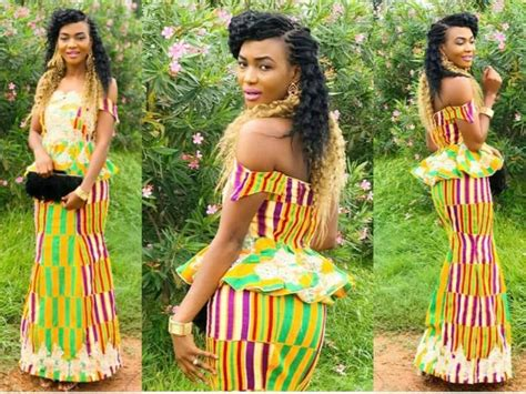 fashion styles for slite and kaba 50 best ghana kente styles on the internet in 2017 swiftfoxx