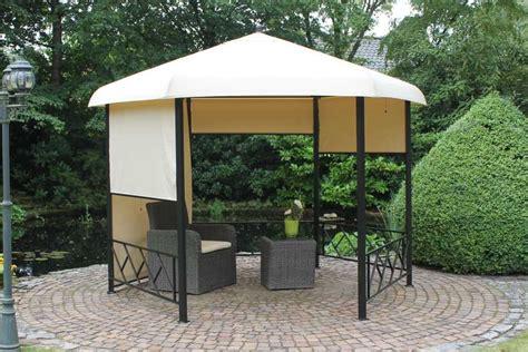 pavillon garten metall gartenpavillon metall wetterfest pavillons garten pavillon