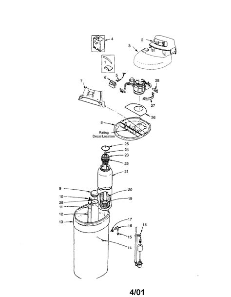 kenmore water softener parts model 625388200 sears