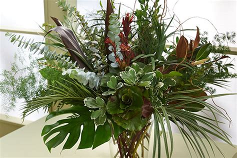 how to arrange flowers in the house best home news ll how to arrange an all foliage arrangement