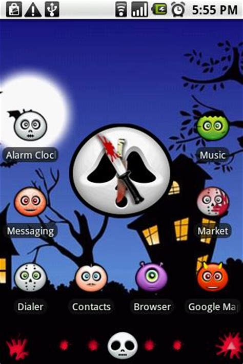 halloween themes for my phone android phone themes halloween techjaws seo computer