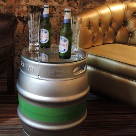 Upcycled Beer Cask Coffee Table by ReUpcycled   Eco Gifts